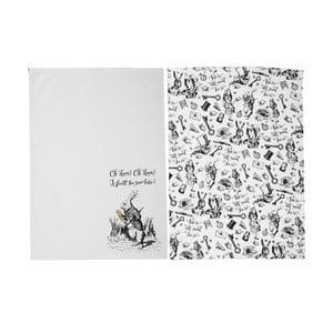 Zestaw 2 ścierek kuchennych Creative Tops Alice in Wonderland