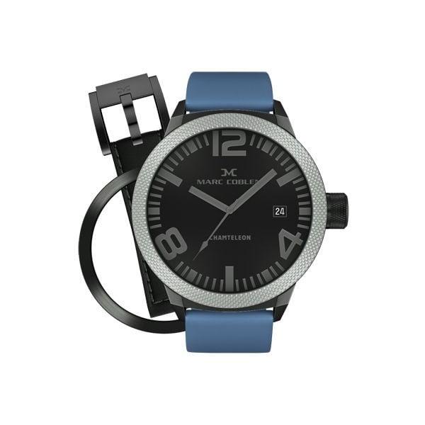 Zegarek męski Marc Coblen z dodatkowym paskiem i obręczą P45