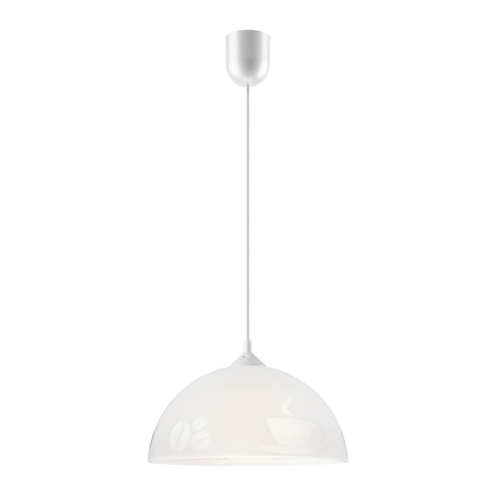Biała lampa wisząca Lamkur Tea
