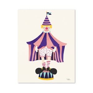 Plakat Michelle Carlslund The Clown, 50x70 cm