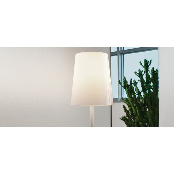 Lampa stołowa Pedrali L001TA, biała