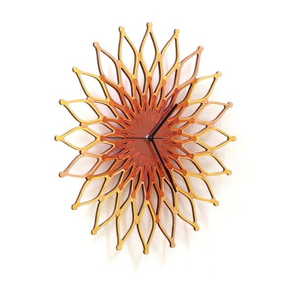 Zegar drewniany Fireworks II, 41 cm