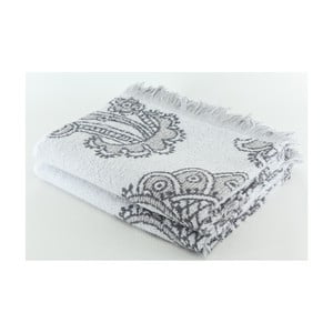 Zestaw 2 ręczników Lors Steel, 70x140 cm