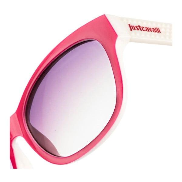 Damskie okulary przeciwsłoneczne Just Cavalli Lilac