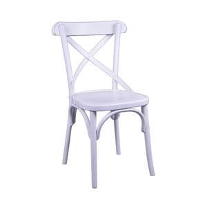 Krzesło do jadalni z litego drewna Ego Dekor Bretagne Cross
