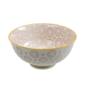 Porcelanowa miska Rice Light Purple, 12x5,6 cm