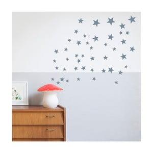Jasnoniebieskie naklejki na ścianę Art For Kids Stars