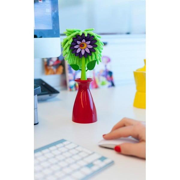 Wazon z kwiatkiem/ściereczką Vigar Flower Shop