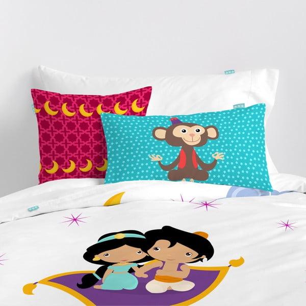 Dwustronna poszewka bawełniana na poduszkę Mr. Fox Aladdin 50x30cm