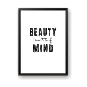 Plakat Nord & Co Beauty Mind, 21x29 cm