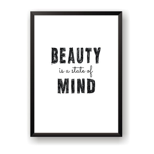 Plakat Nord & Co Beauty Mind, 30x40 cm
