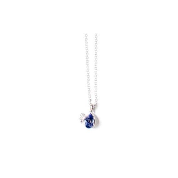 Naszyjnik Swarovski Elements Crystal Violet