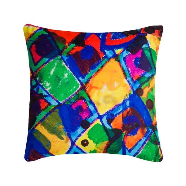 Poduszka z wypełnieniem Abstract 13, 45x45 cm