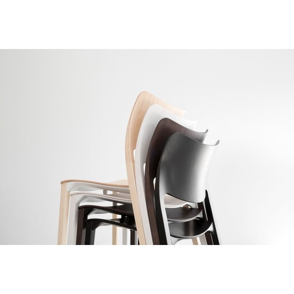 Krzesło Laclasica, bielony jesion
