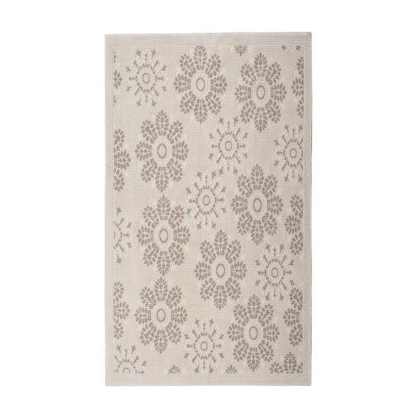 Kremowy dywan bawełniany Floorist Randa, 160x230cm