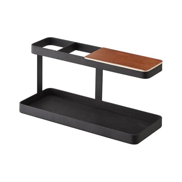 Czarny stojak uniwersalny Yamazaki Tower Desk Bar