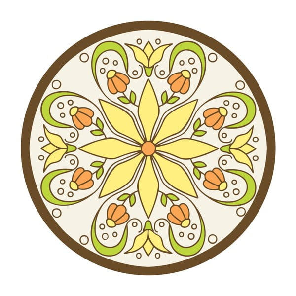 Naklejki Flower Mandala