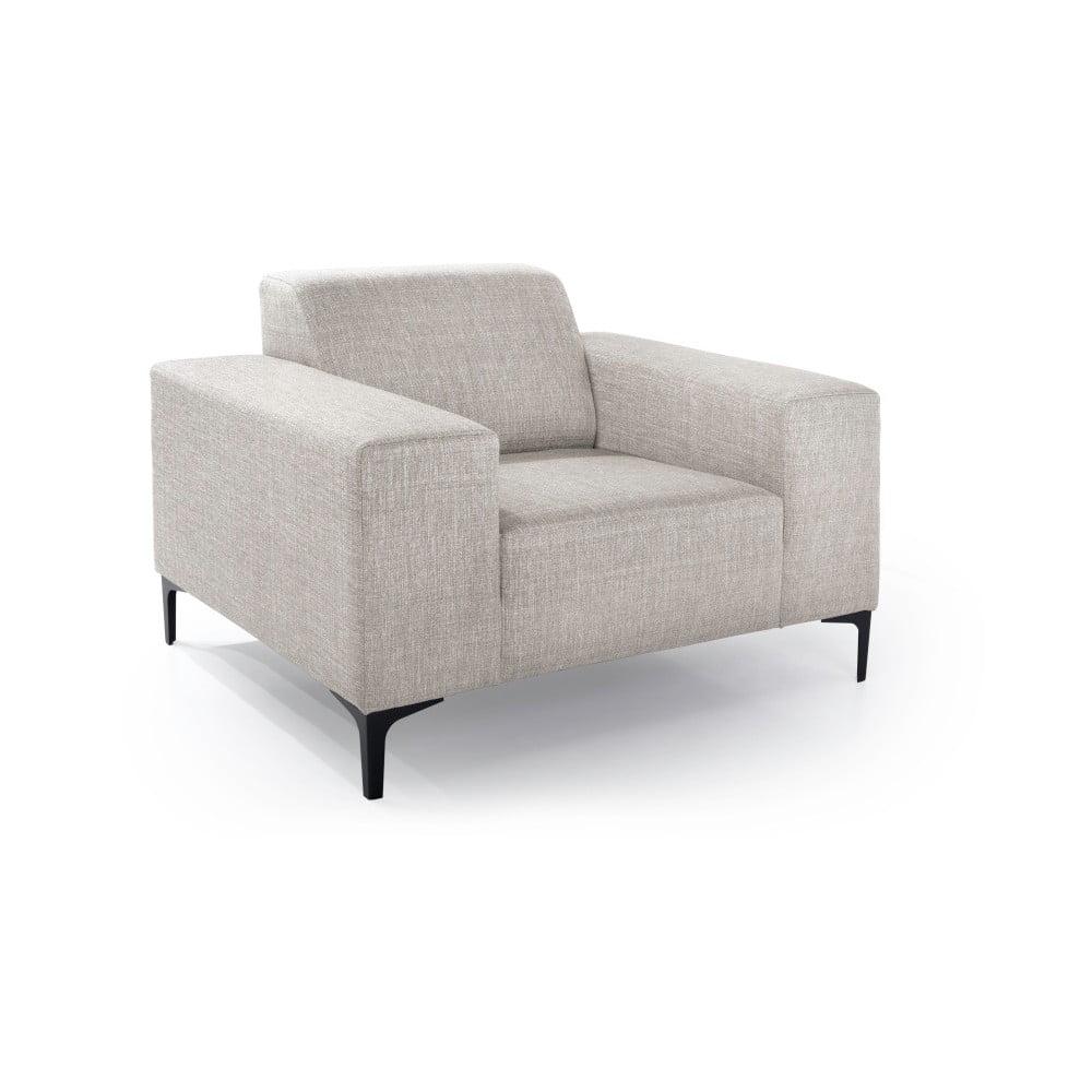 Beżowy fotel Scandic Diva