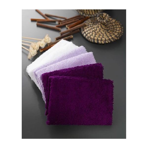 Zestaw 6 ręczników Hill Lila, 30x30 cm