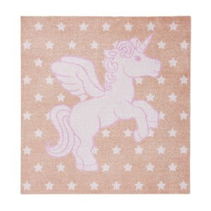 Dywan Hanse Home Kiddy Unicorn, 100 x 100 cm