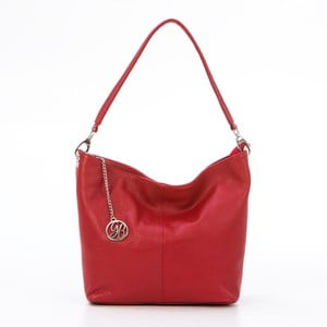 Skórzana torebka Marco, czerwona