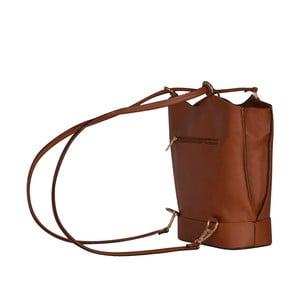 Skórzana torebka/batoh Jamie, cognac