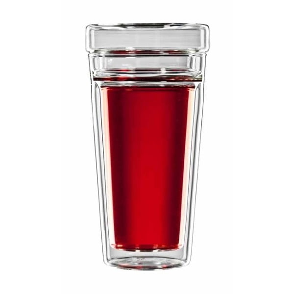 Komplet   szklanek na herbatę z sitkiem bloomix