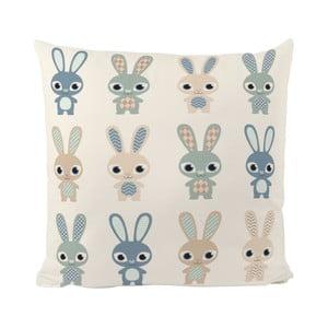Poduszka   Rabbit Group, 50x50 cm