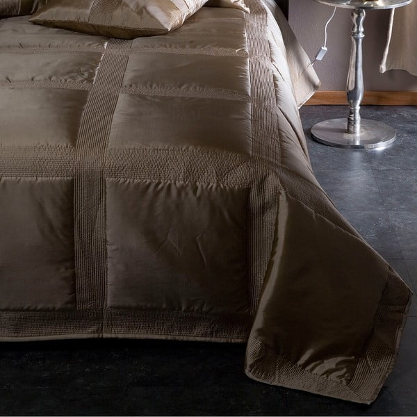 Narzuta na łóżko Montana Champagne, 220x270 cm