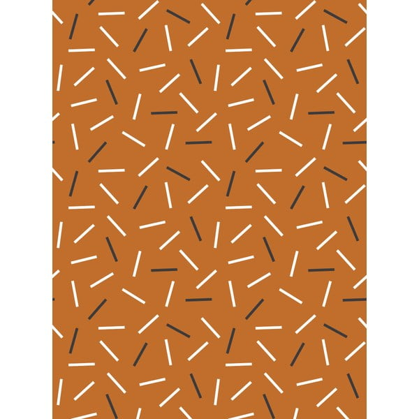 Fizelinowa tapeta Matches Cinnamon, 0,53x10,05 m