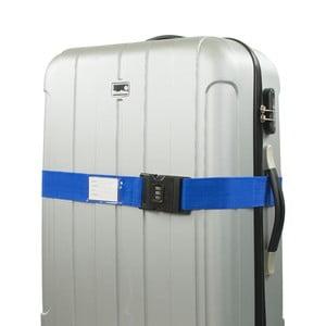 Niebieski pas zabezpieczający do walizki Bluestar