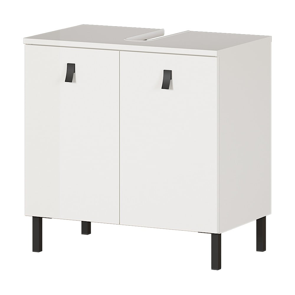 Biała szafka pod umywalkę Germania Tulsa, szer. 60 cm