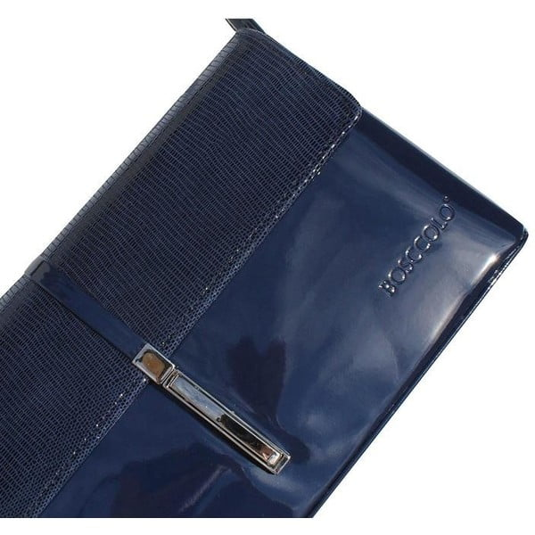 Skórzana kopertówka Boscollo Blue 2393