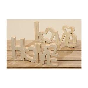 Zestaw 2 napisów dekoracyjnych Boltze Home, Love