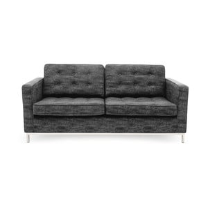 Sofa trzyosobowa, ciemnoszara