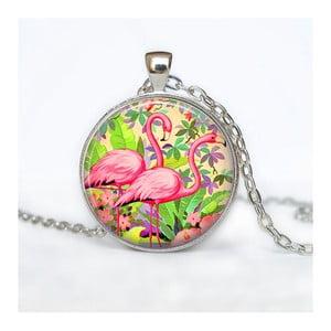 Damski łańcuszek z wisiorkiem Butoni de Camasa Flamingo