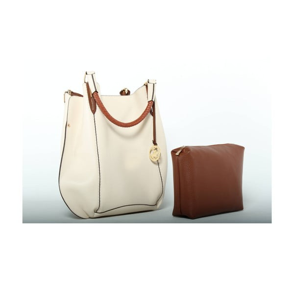 Torebka Beverly Hills Polo Club 447 - Cream/Tan