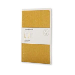 Zestaw do pisania Moleskine Maize, karta + koperta