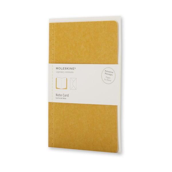 Zestaw do pisania Moleskine Personal Maize, notes + okładka