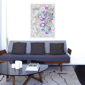 Kolorowanka Patchwork OMY, 70x100 cm