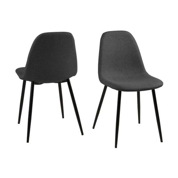 Krzesło do jadalni Wilma, szare