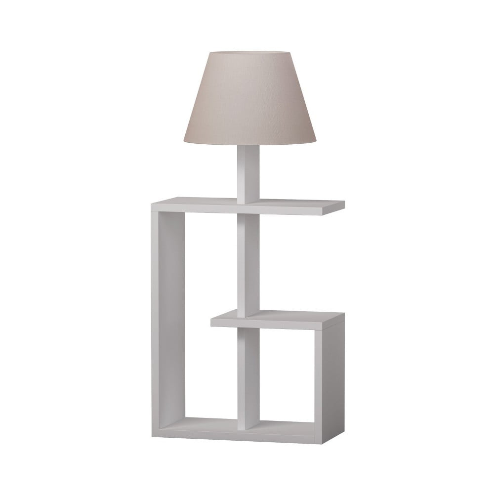 Biała lampa stojąca Homitis Saly