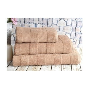 Brązowy ręcznik Irya Home Nova, 50x90 cm