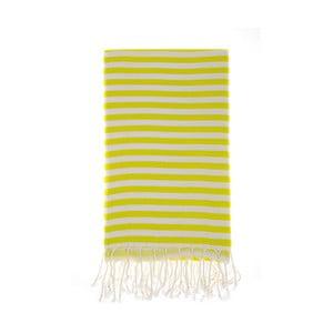 Ręcznik hammam Marmaris Yellow 100x180 cm