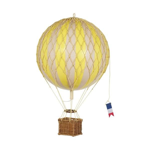 Model balonu Travels Light, żółty