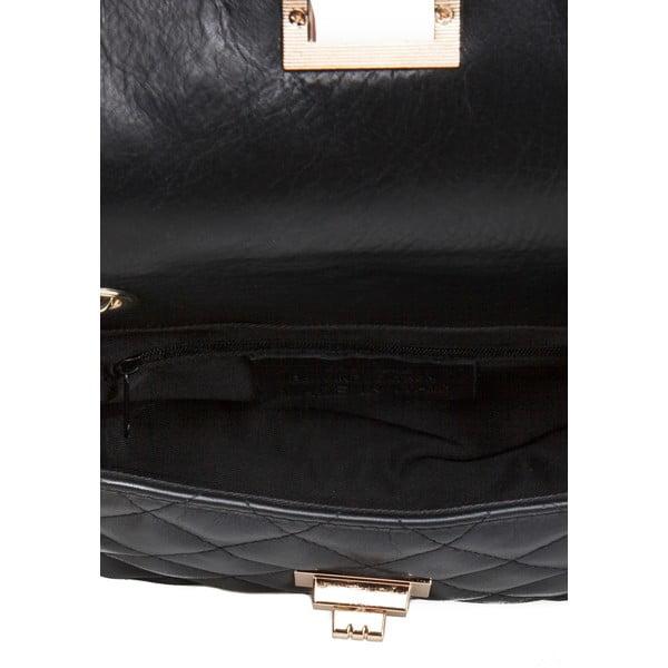 Czarna torebka skórzana Markese Eulalia