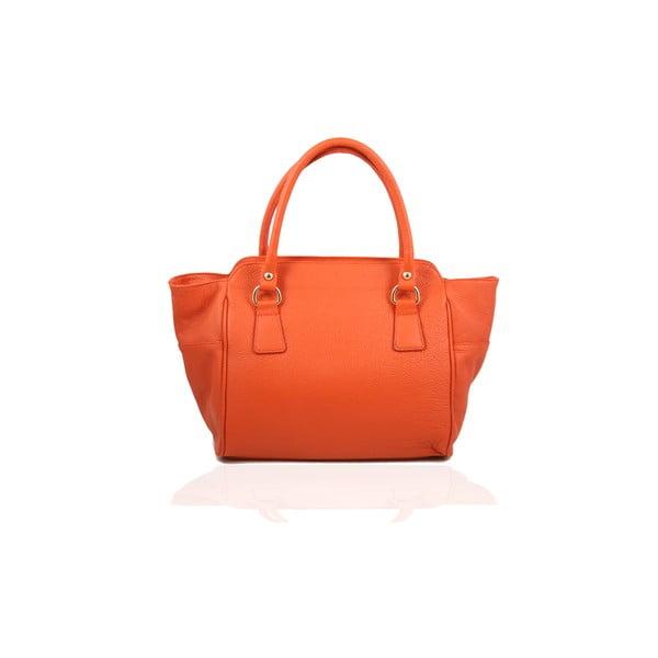 Skórzana torebka Gabriela, orange