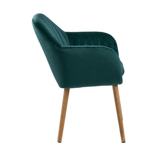 Zielone krzesło Actona Emilia Vic