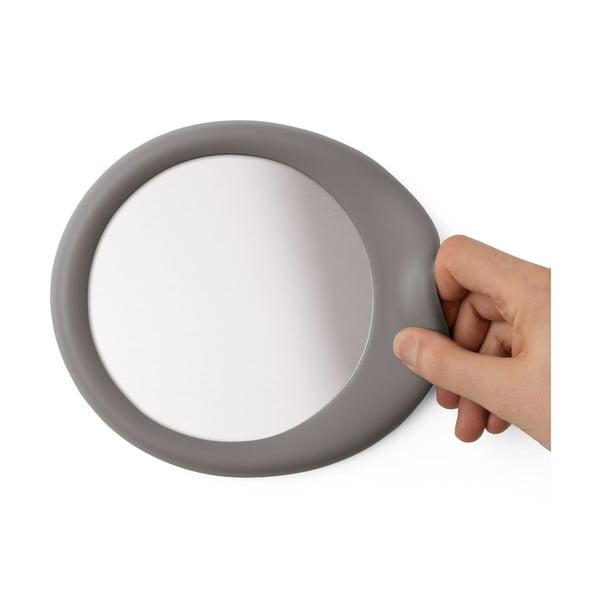 Samoprzylepne lustro Eclisse Shadow Grey