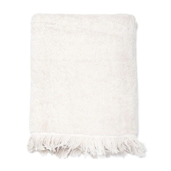 Zestaw 2 kremowych ręczników bawełnianych i 2 ręczników kąpielowych Casa Di Bassi Bath